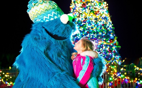 Sing-a-Long at SeaWorld San Diego's Sesame Street Christmas Celebration