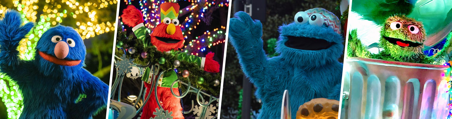 Sesame Street Meet and Greets at SeaWorld San Diego Christmas Celebration