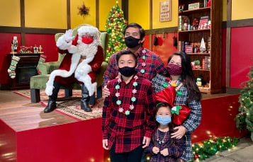 Photos and Cookies with Santa