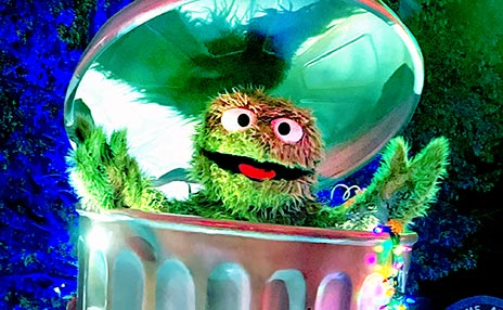 Sesame Street Meet and Greet with Oscar the Grouch