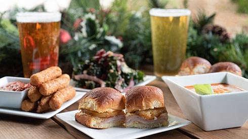 Enjoy food and drinks during SeaWorld San Diego Christmas Celebration