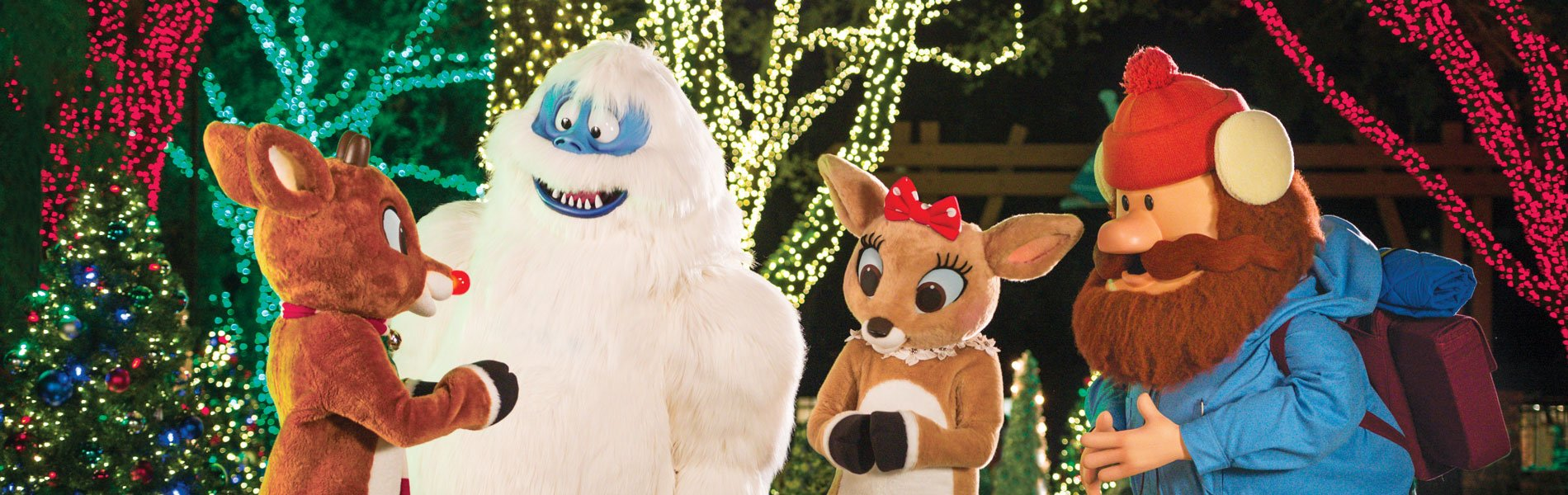 Photos with Rudolph and Friends