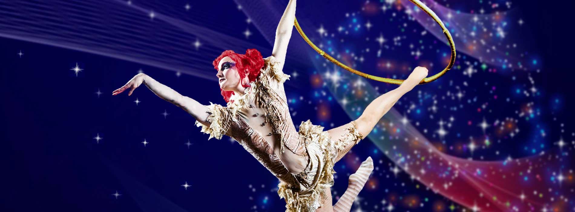 Join us for SeaWorld's Cirque Christmas show.
