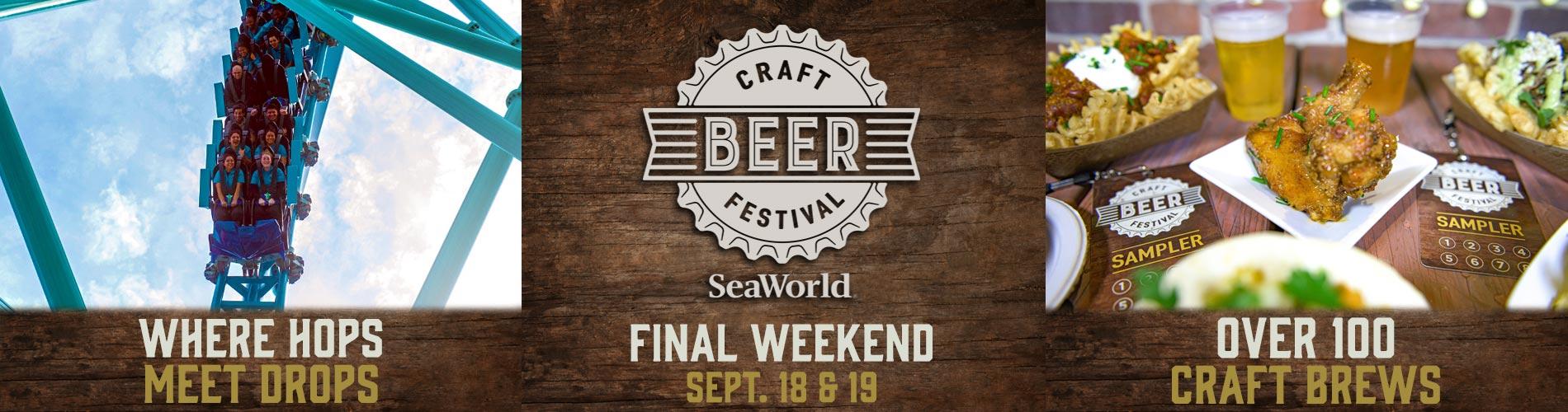 Final Weekend of the SeaWorld San Diego Craft Beer Festival