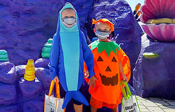 Kids Costume Contest at SeaWorld Spooktacular