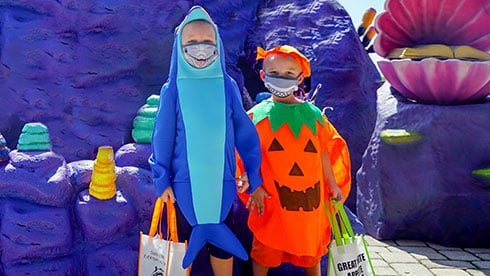 Costume contest at Spooktacular SeaWorld San Diego