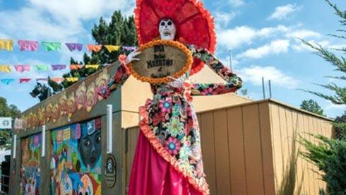 Dia de los Muertos SeaWorld San Diego Halloween Spooktacular
