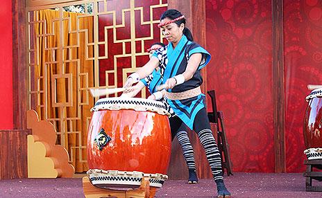 Lunar New Year Festival Stage