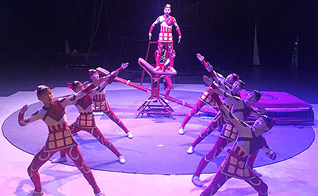 Lunar New Year Chinese Acrobats