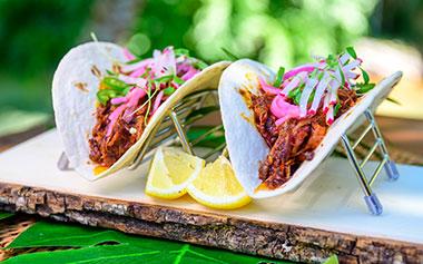 Barbacoa Taco at Seven Seas Food Festival at SeaWorld San Diego