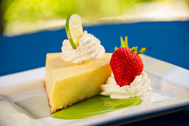 Key lime pie at Seven Seas Craft Beer and Food Festival at SeaWorld San Diego