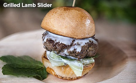 Grilled Lamb Slider