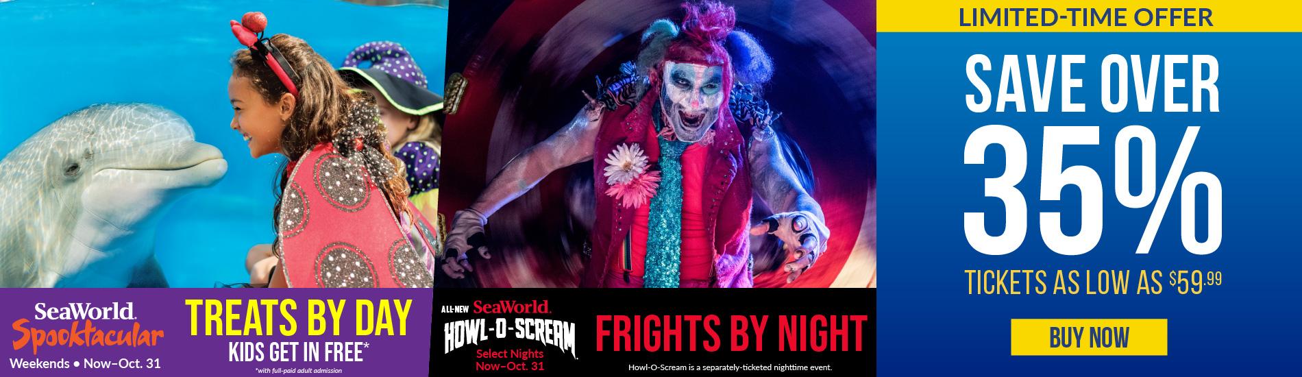 Howl-O-Scream, Spook, Tickets
