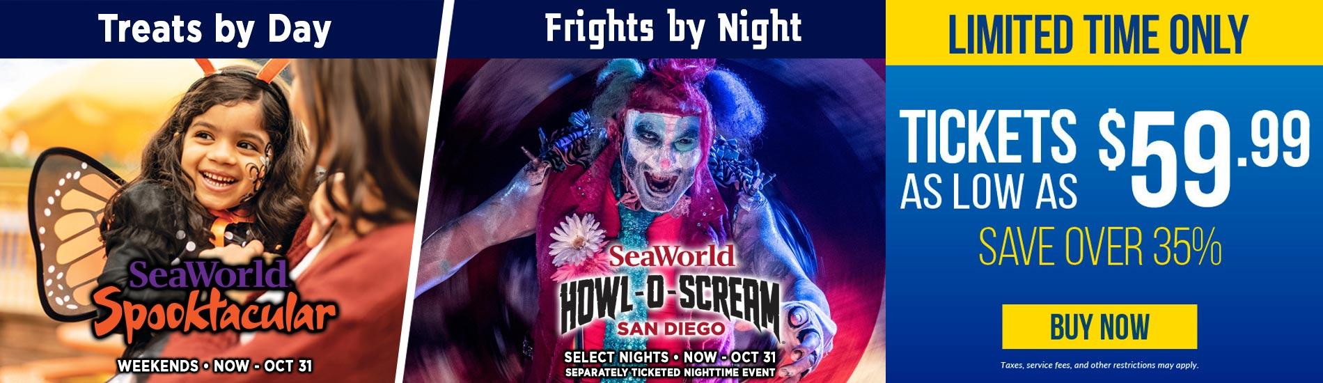 Spooktacular Howl-O-Scream Tickets