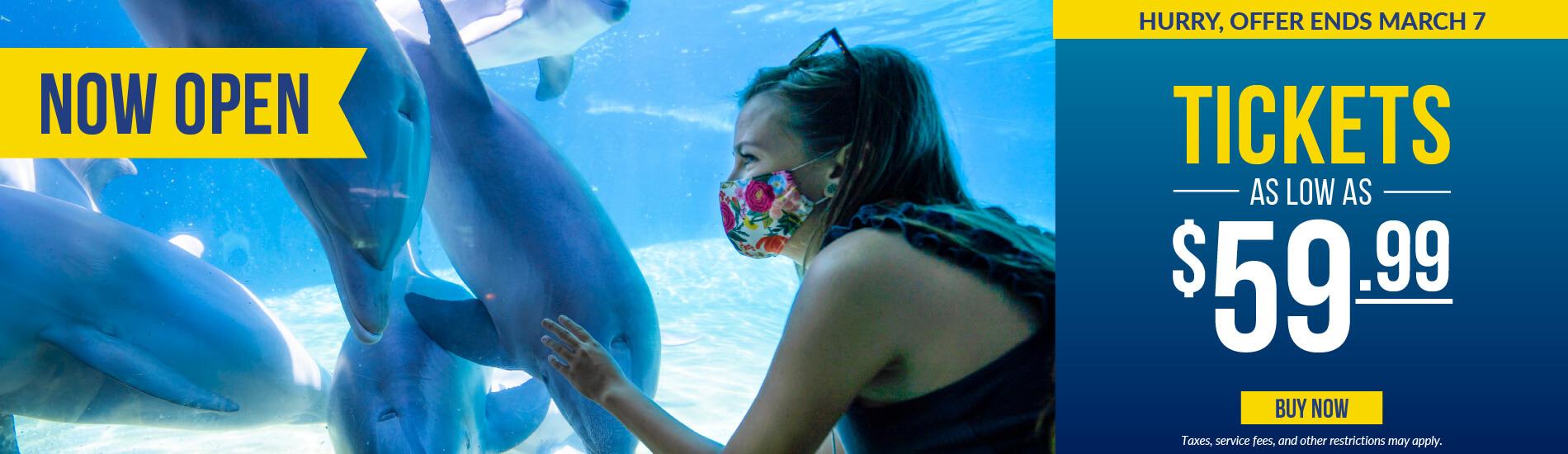 SeaWorld San Diego Weekday Sale