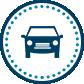 Circle Icon Car Parking