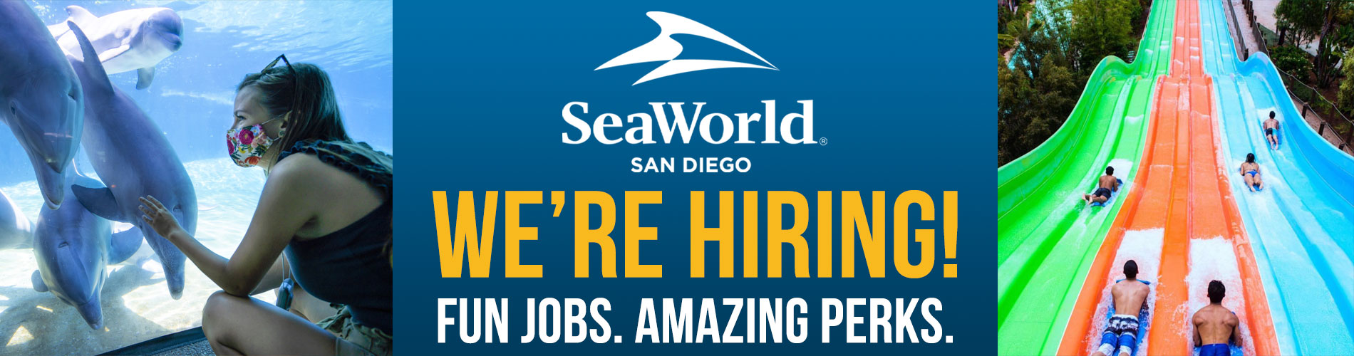 SeaWorld San Diego is hiring!