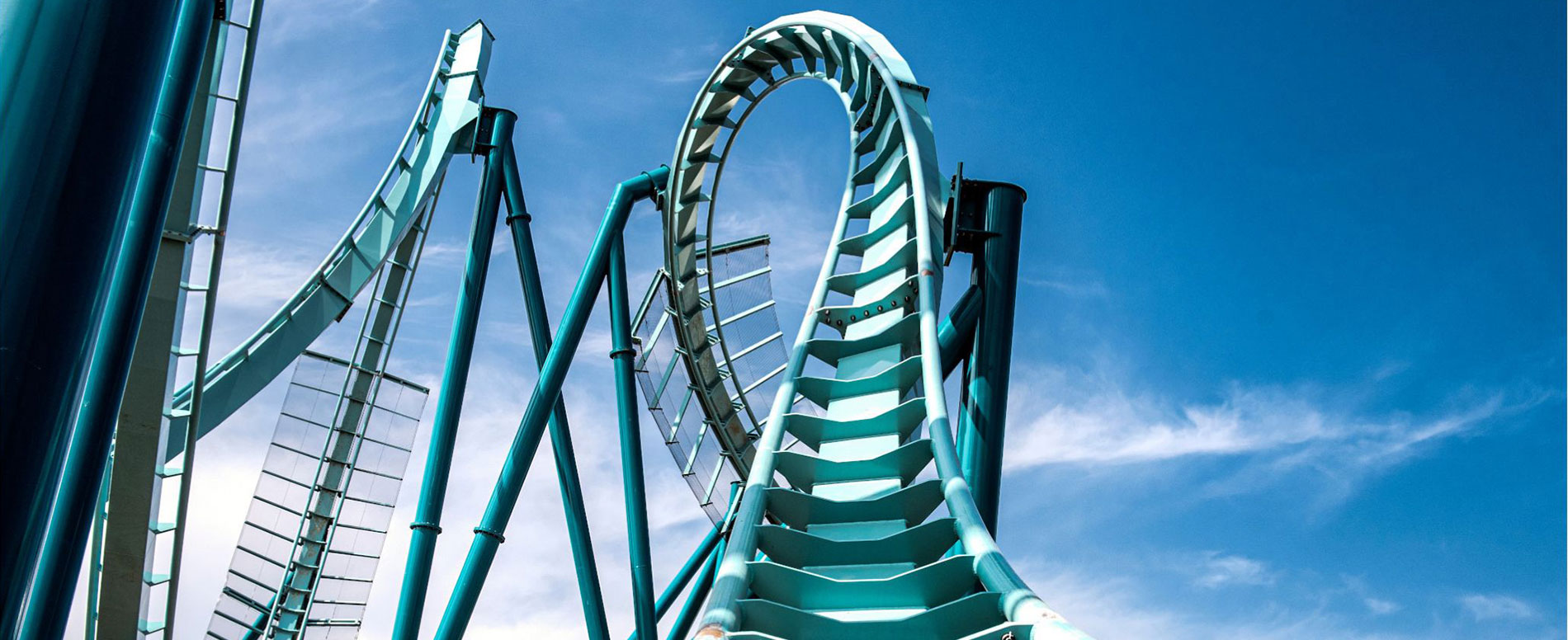Rides and rollercoasters at SeaWorld San Diego