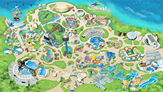 SeaWorld San Diego Park Map 2018