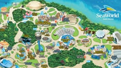 SeaWorld San Diego Park Map