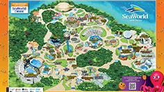 SeaWorld San Diego Park Map Spooktacular