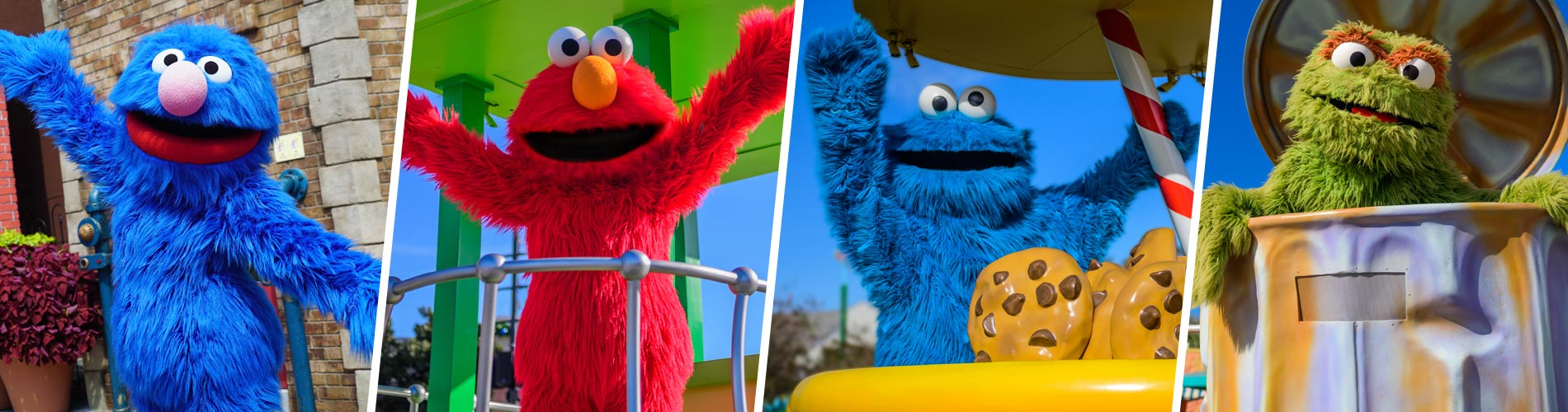 Socially distant meet and greets with your Sesame Street friends at SeaWorld San Diego