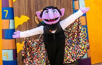 Count von Count at SeaWorld San Diego