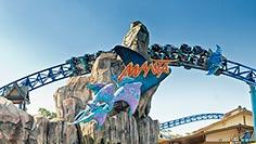 Manta roller coaster at SeaWorld San Diego