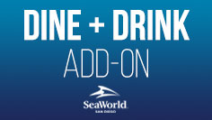 Dine and drink add ons at SeaWorld San Diego
