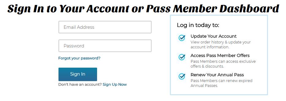 SeaWorld San Diego Online Account Log In