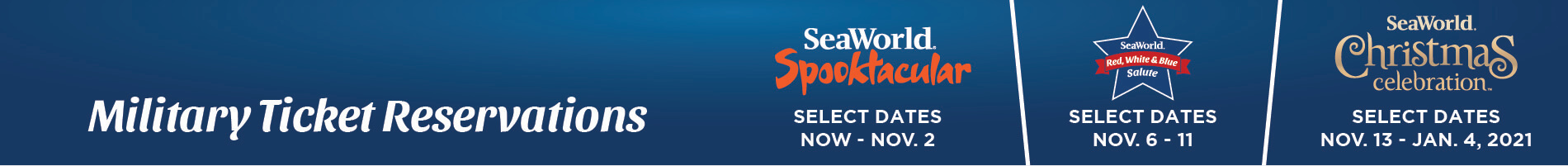 SeaWorld San Diego Event Reservations
