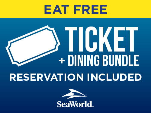 Eat Free Ticket and dining bundle