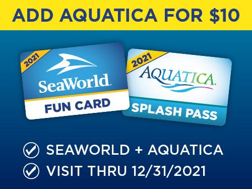 Add Aquatica for $10!