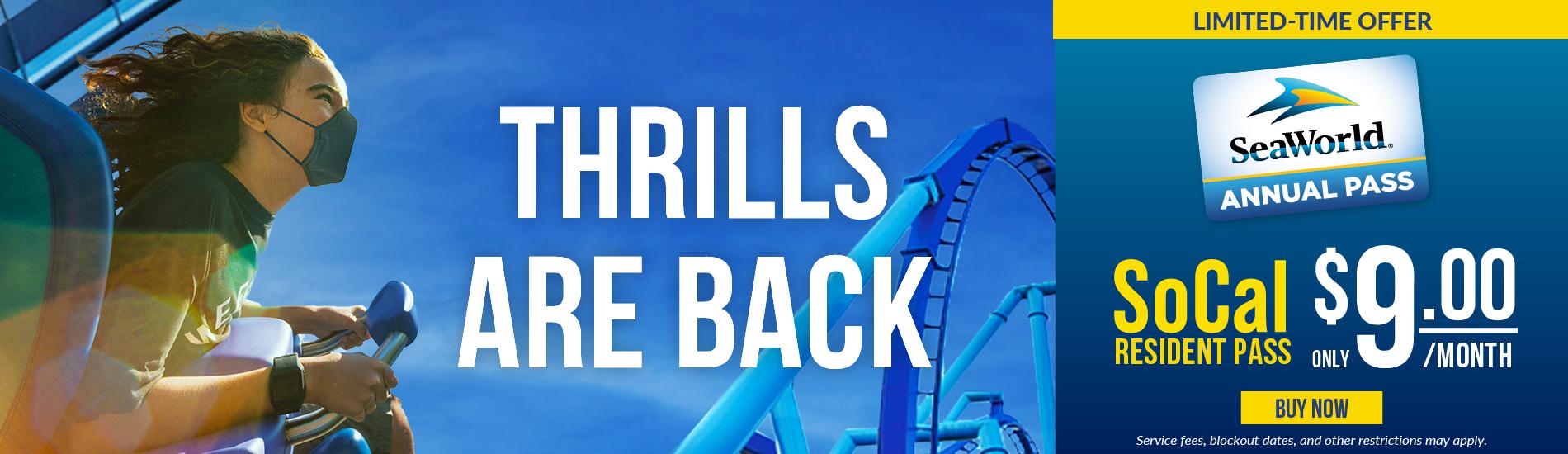 Thrills are Back