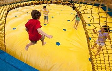 SeaWorld San Diego Sesame Street Bay of Play Air Bounce