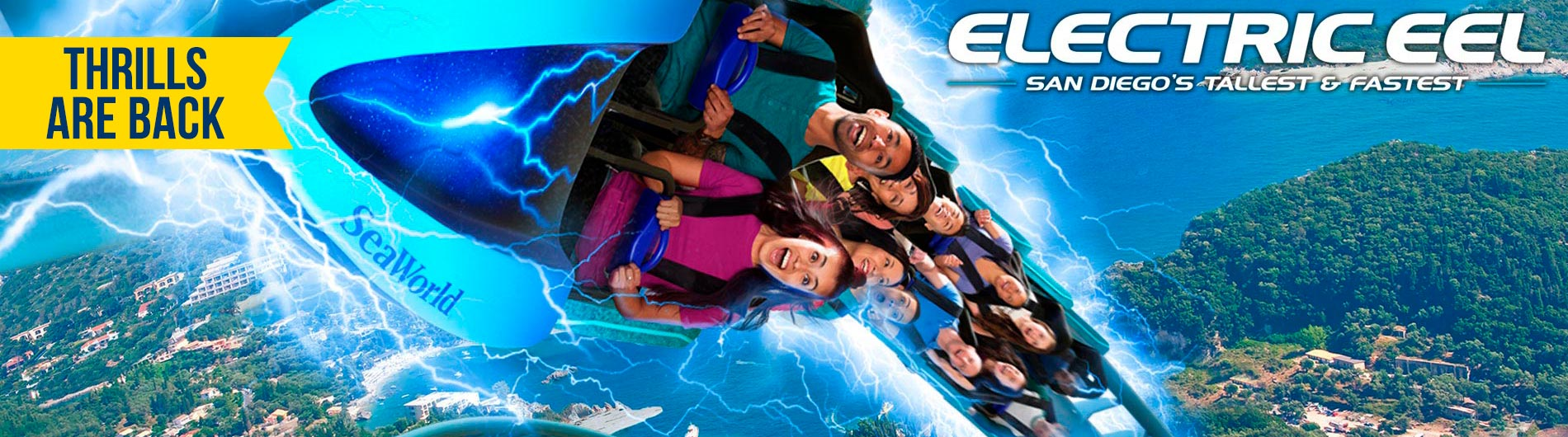 The thrills are back at SeaWorld San Diego