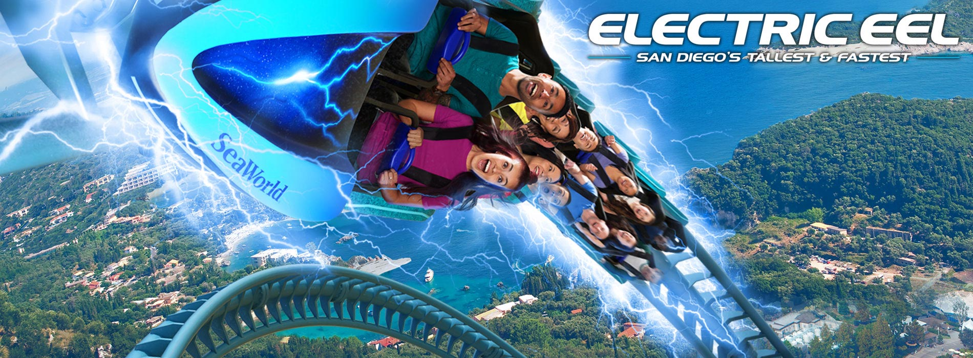 Electric Eel- San Diego's Tallest and Fastest Roller Coaster