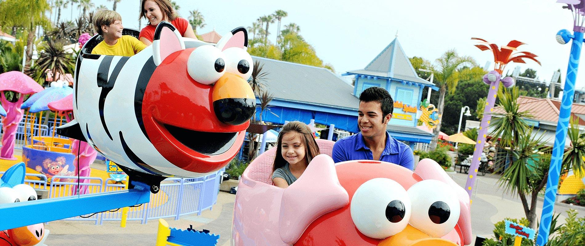 Elmo's Flying Fish
