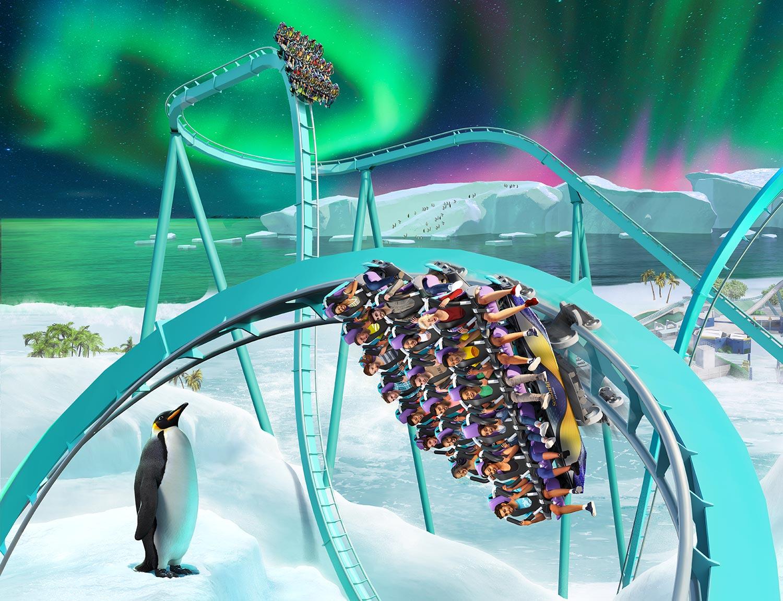 All-New Ice Breaker Roller Coaster