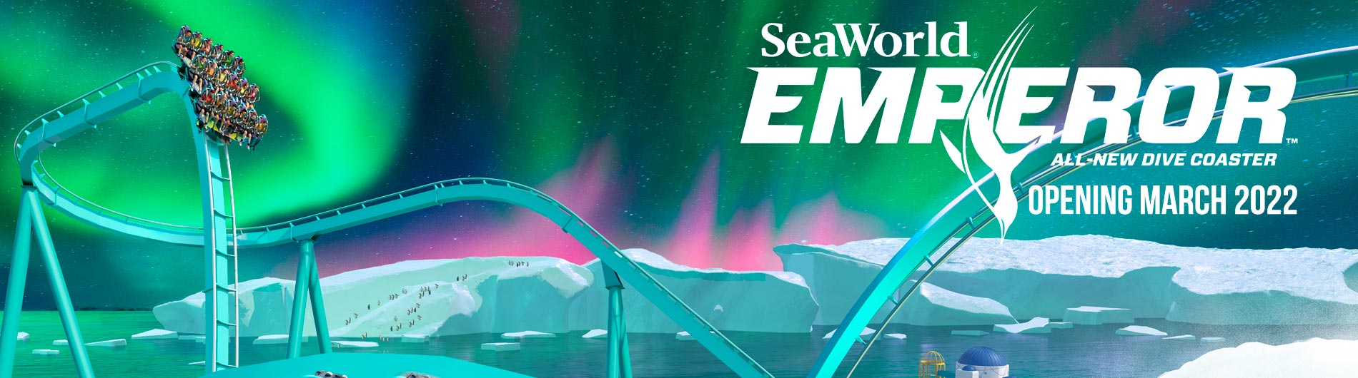 Emperor Opening March 2022 at SeaWorld San Diego