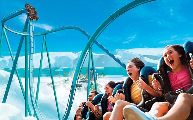 Emperor Roller Coaster SeaWorld San Diego