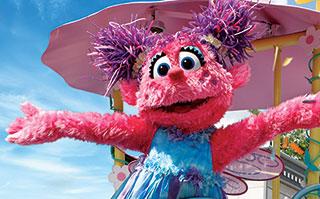 Abby at Bay of Play at SeaWorld San Diego