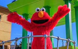 Elmo at Sesame Street Bay of Play