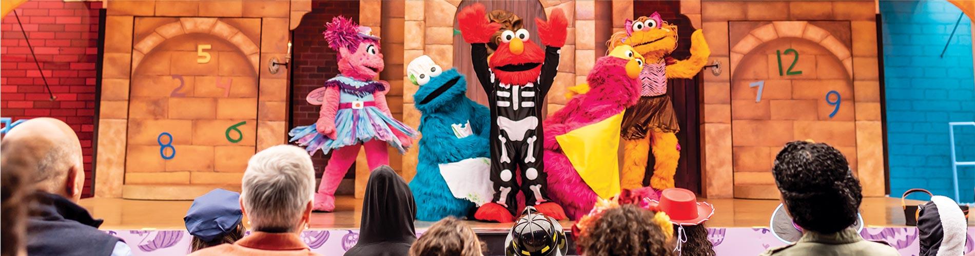 Countdown to Halloween show during SeaWorld San Diego Halloween Spooktacular