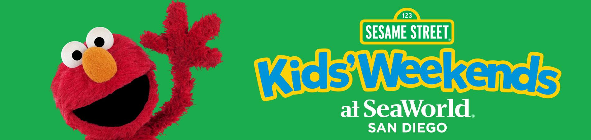 Sesame Street Kids Weekends at SeaWorld San Diego