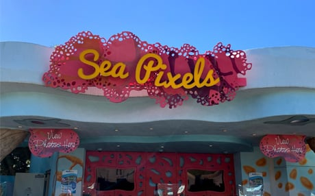 Sea Pixels Store at SeaWorld San Diego