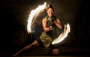 Polynesian Fire Dancing - Seven Seas Food Festival
