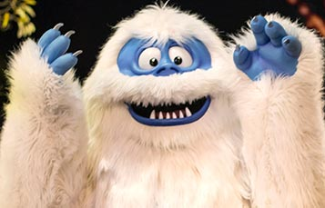 Meet Bumble from Rudolph the Red-Nosed Reindeer at SeaWorld San Diego Christmas Celebration
