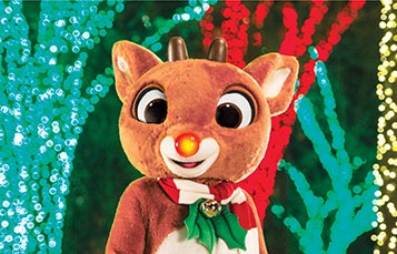 Meet Rudolph the Red-Nosed Reindeer at SeaWorld San Diego Christmas Celebration