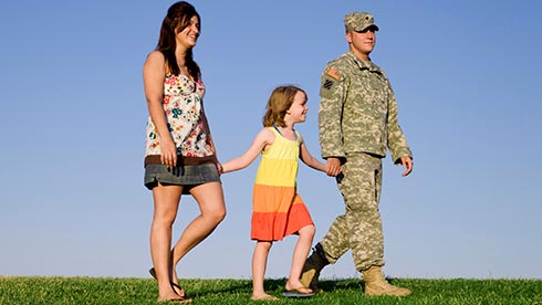 Waves of Honor Family Walking